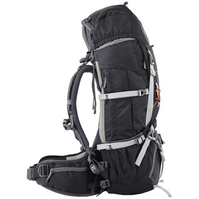 CAMPZ Mountain Pro 55+10L Rugzak, black